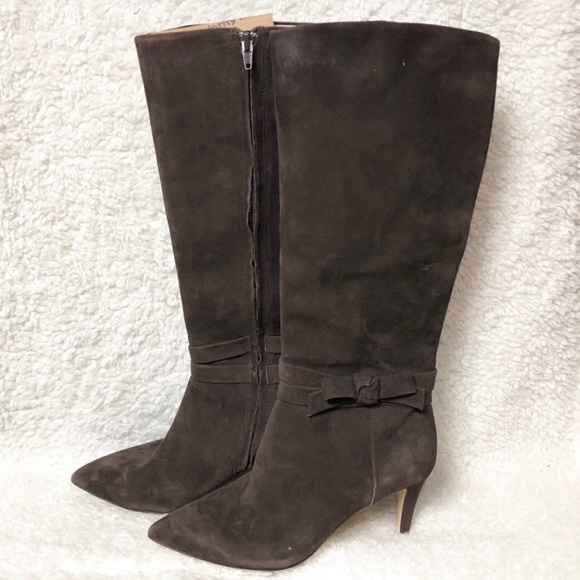 35d6af33aea kate spade Shoes - Kate Spade New York Bow Knee-High Boots